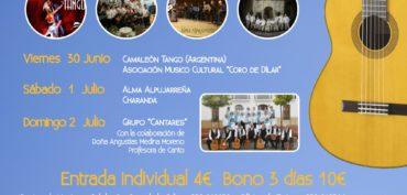 Encargados del IV FESTIVAL HABANERAS DE SALOBREÑA